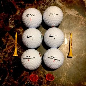 Assorted Golf Balls